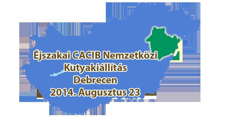 Éjszakai CACIB Nemzetközi Kutyakiállítás – Debrecen – 2014. Augusztus 23