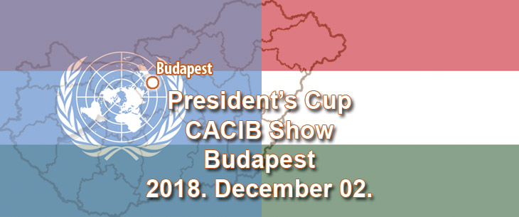 President's Cup CACIB Show – Budapest – 2018. December 02.